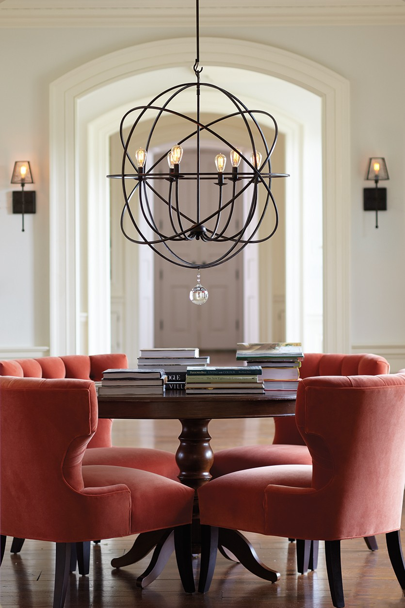 dining room chandeliers how to select the right size dining room chandelier - how to decorate RJYIWOT