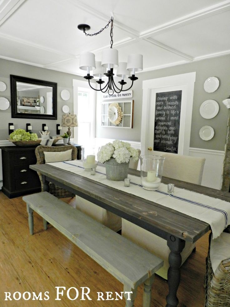 dining room decor joanna gaines dining rooms. #diningroomdecor #homedecor CICMVLR