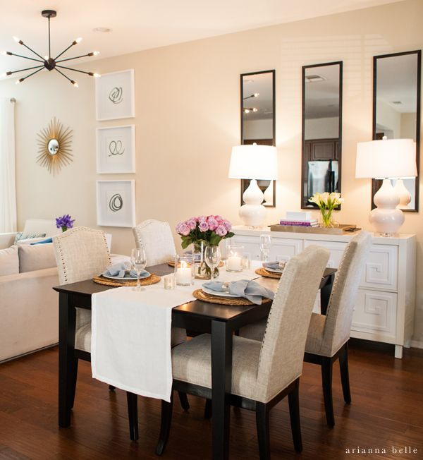dining room decorating ideas best 25+ dining room table decor ideas on pinterest   dinning room ideas, ZHBJEXP