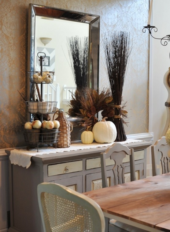 dining room decorating ideas ... wonderful looking fall dining room table decorating ideas 19 beautiful  and FIOVMBF