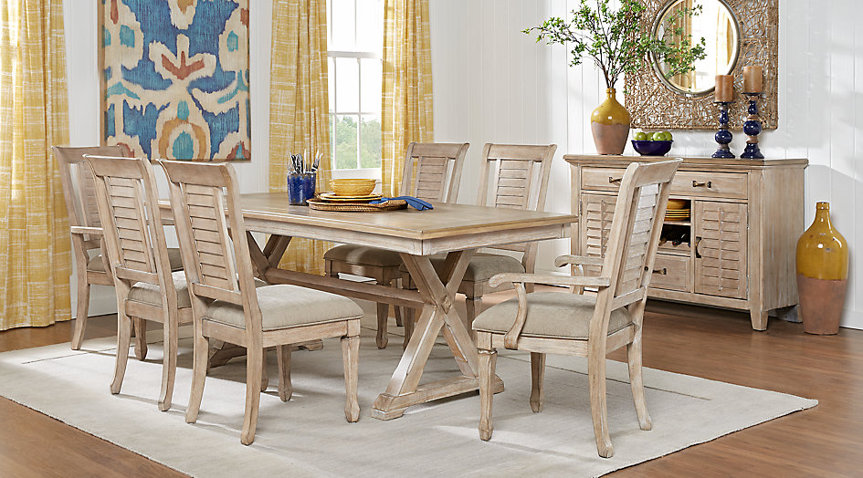 dining room furniture nantucket breeze white 5 pc dining room FVOHKLS