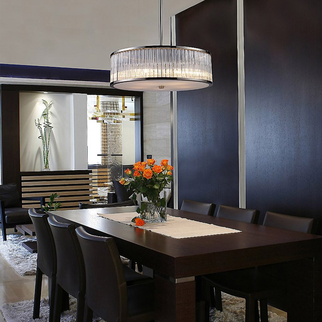 dining room lights ... https://www.lumens.com/braxton-drum-pendant/ ... CWNVCYF
