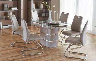 dining table and chairs piatto fixed dining table and 4 chairs piatto iconica CFBQUCG