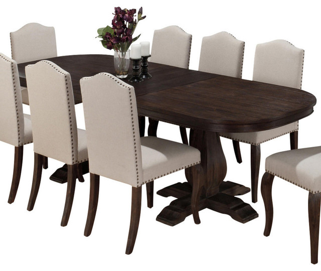 dinning table jofran 634-102 dining table with butterfly leaf transitional-folding-tables JZADBXI