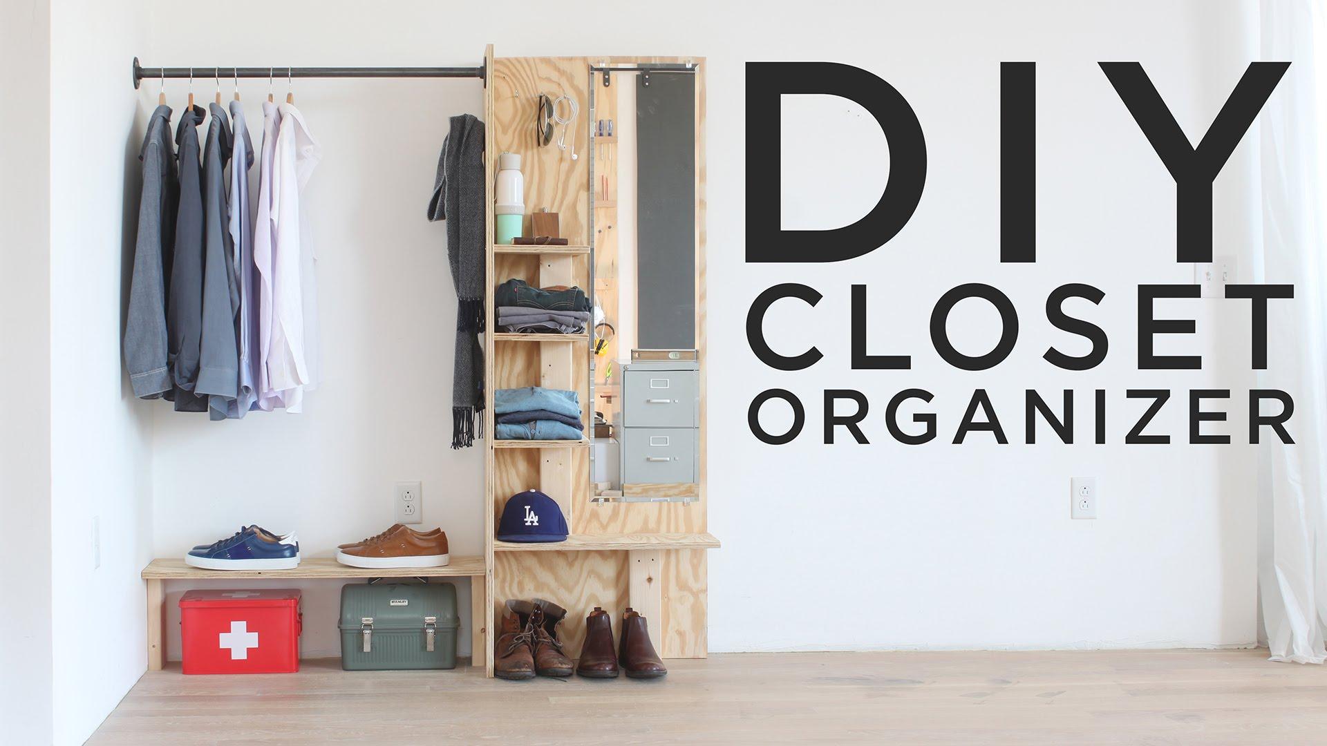 diy closet organizer - youtube JOSNVHR