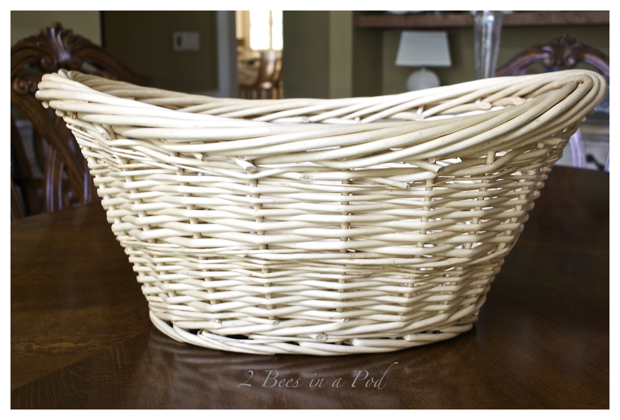 diy gray washed wicker laundry basket u2026 XLXLJIV