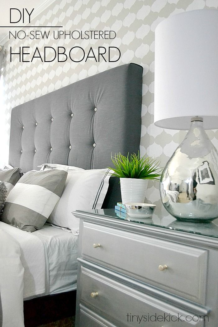 diy headboards diy upholstered headboard with a high end look! FKTCUEN