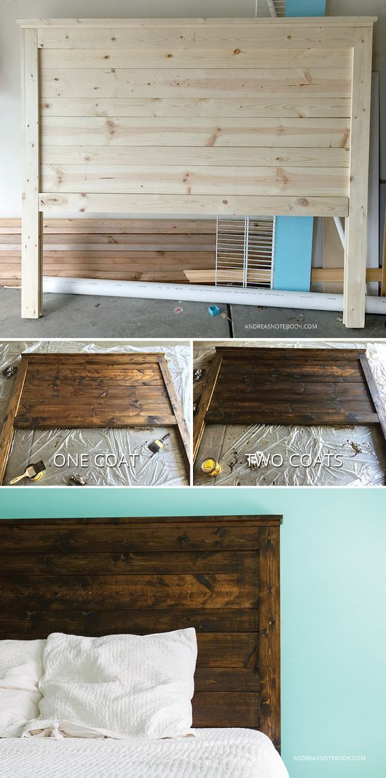 diy headboards the rustic headboard that fits any bedroom CCMSWXO