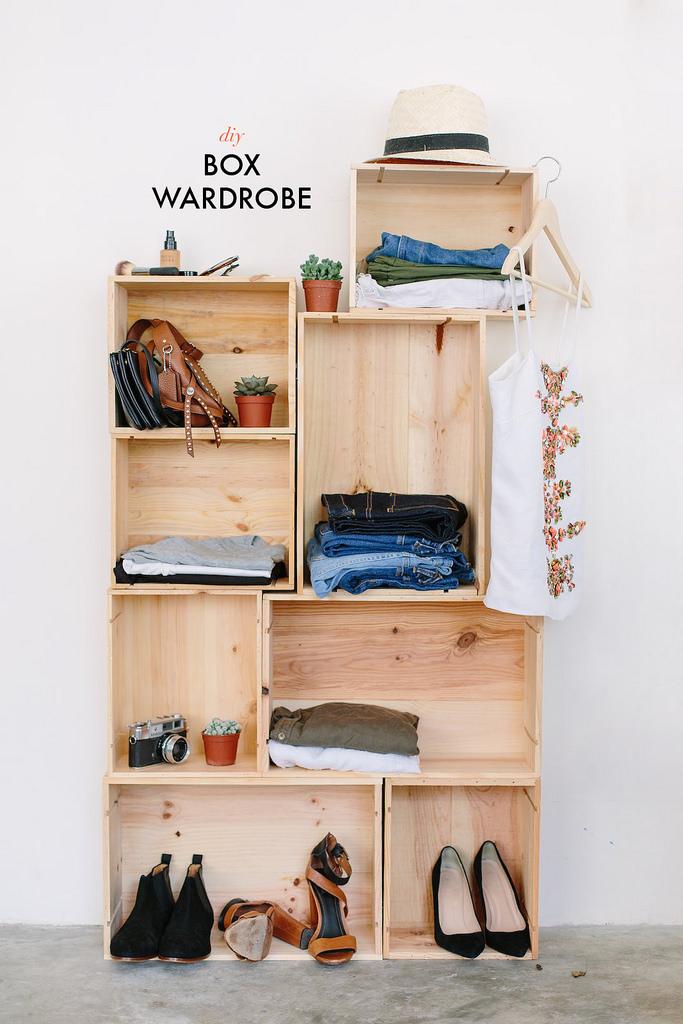 diy wardrobe diy box wardrobe | a pair u0026 a spare PFOEJAV