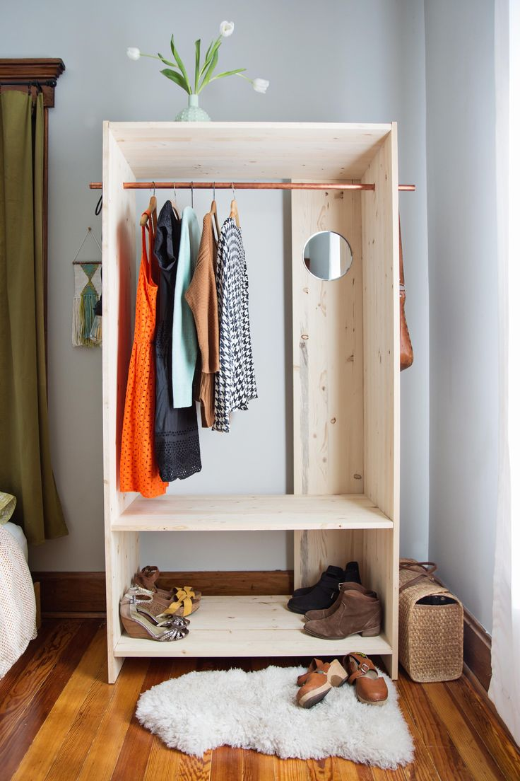 diy wardrobe modern wooden wardrobe diy (a beautiful mess) FJOAANW