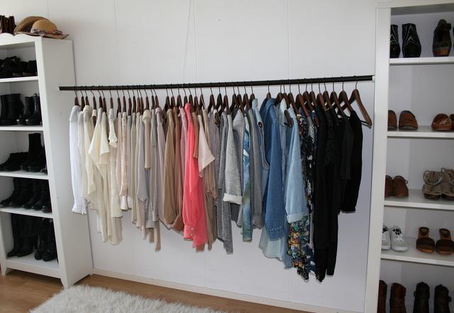 diy wardrobes i love the simple look of maria of vanillascentedu0027s wardrobe (top pic), and CHGMKUR