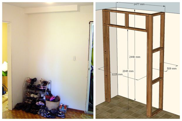 Appoint the experts for diy wardrobe goodworksfurniture diy wardrobes this design is meant for a corner wardrobe of full height and wide solutioingenieria Choice Image