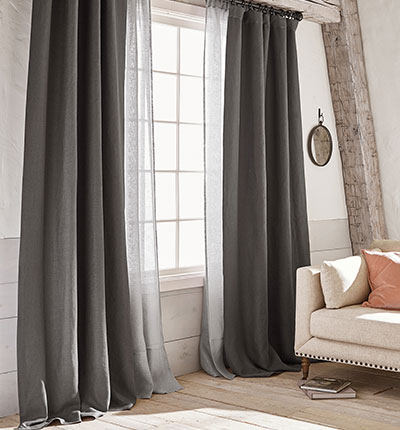 drapes and curtains belgian flax linen collection KOQVWTT