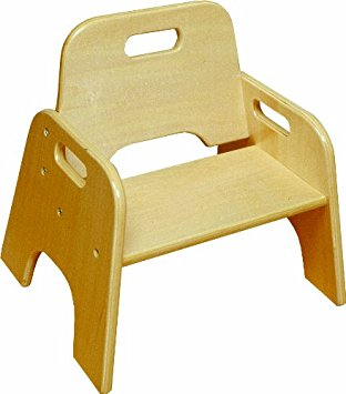 ecr4kids 6 stackable wooden toddler chair, ... ZHXFLZY