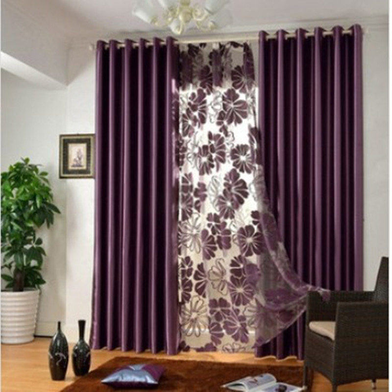 elegant contemporary bedroom curtains in solid color for privacy BIAFUQG