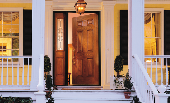 entry doors encompass fiberglass or steel entry door BIIZALB