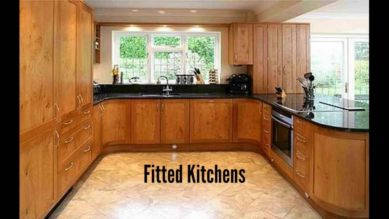 fitted kitchen fitted kitchens - kitchen designs photo gallery - youtube IFUKFKY