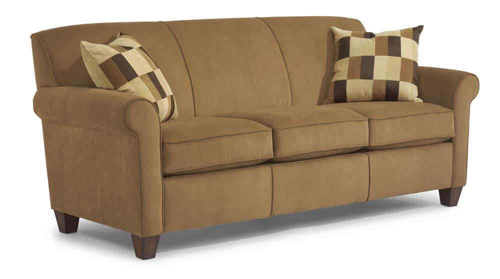 flexsteel sofas flexsteel dana stationary sofa - item number: 5990-31 AJZFZDC