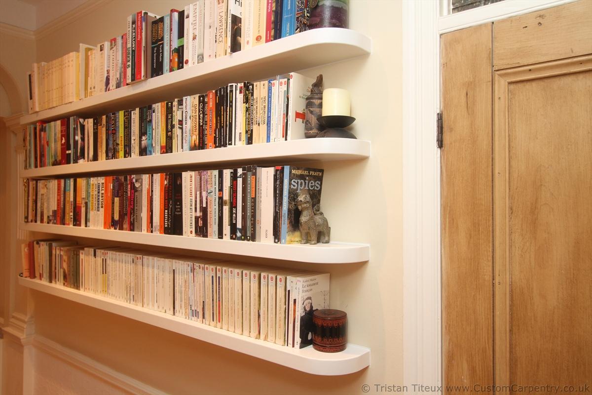 floating bookshelves curved floating shelf fitted floating shelves empatika decoration ideas CUYRHFH