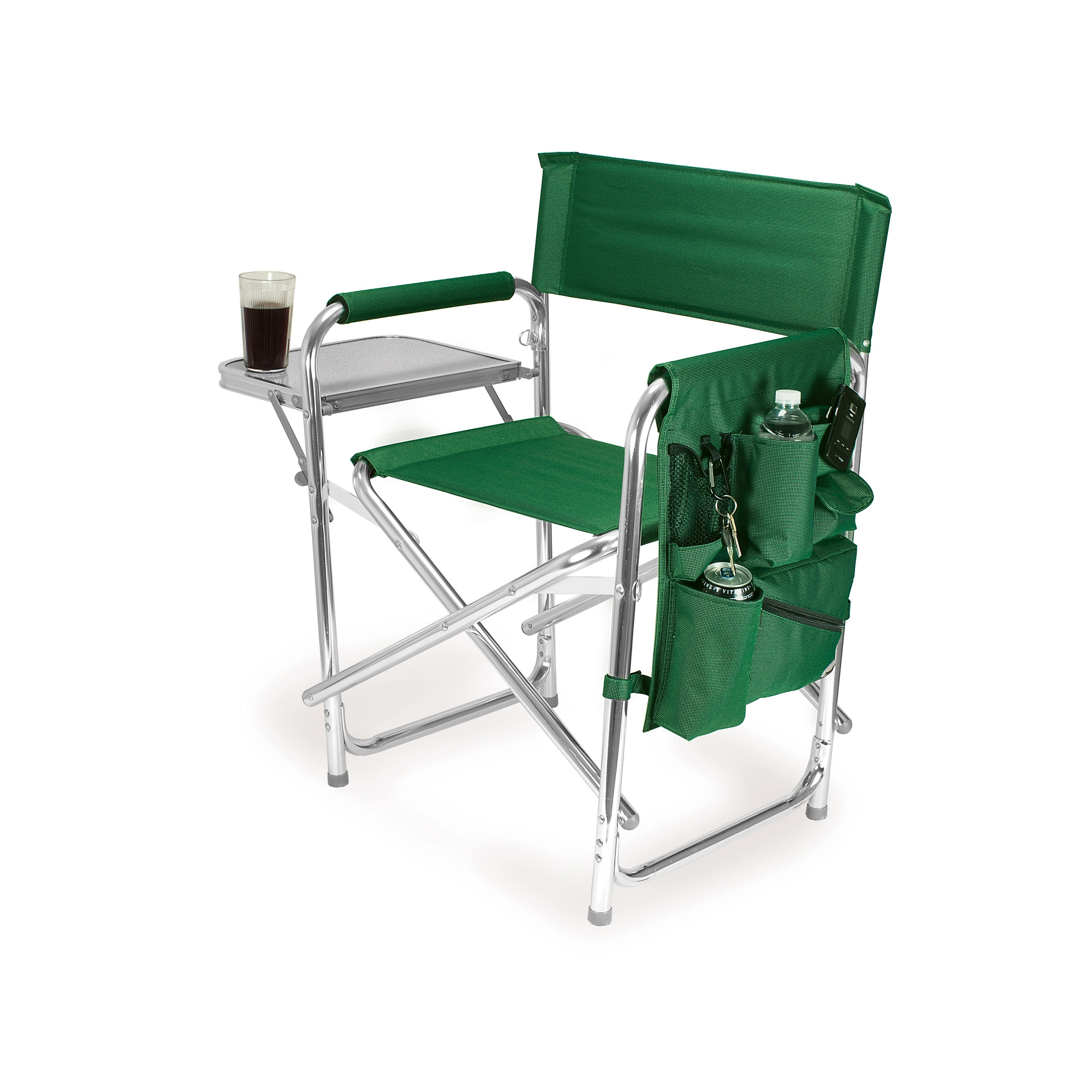 folding camping chairs picnic time green portable folding sports/camping chair DSDAYUH