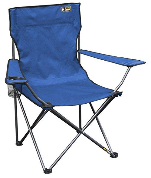folding camping chairs quik chair folding quad mesh camp chair - blue HCDGGVM