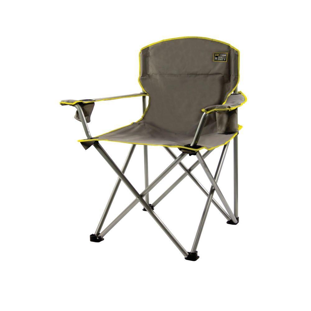 folding camping chairs quik chair gray heavy duty folding patio armchair CBIYAIA