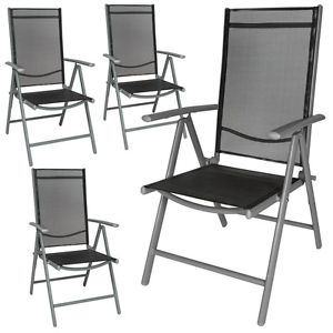 folding garden chairs image is loading aluminium-folding-garden-chairs-outdoor-camping-patio -furniture QZFUWKS
