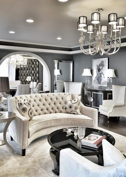 formal living room ideas monochrome is a great choice for a formal living roomu0027s color scheme. for TGBIKQF