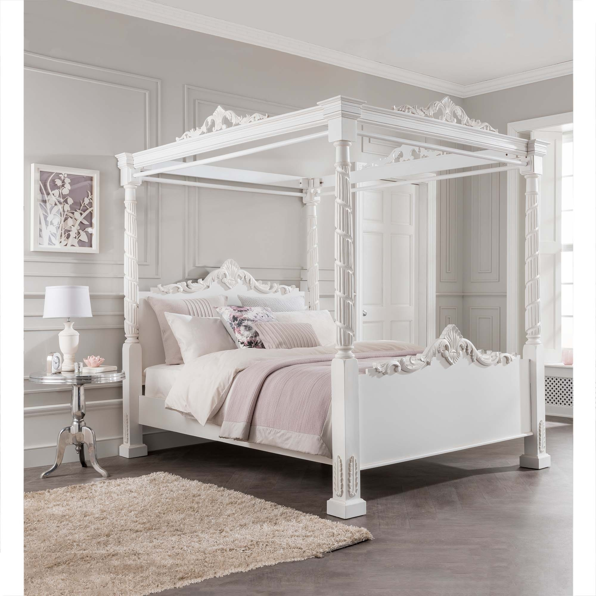 four poster bed lincoln four poster antique french style bed URAKDVJ