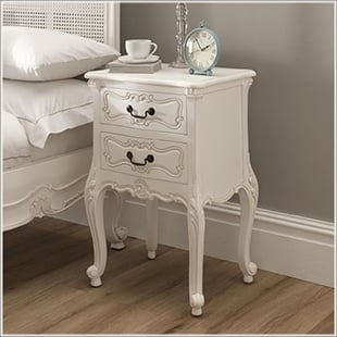 french bedroom furniture bedside tables KXDZSZW