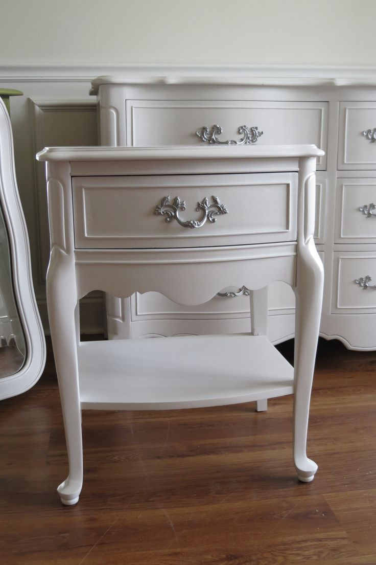 french provincial furniture white french provincial nightstand LGZLIOB