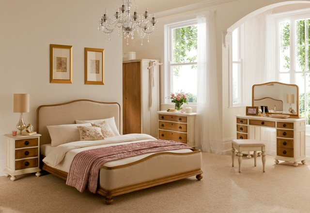 french style furniture inspiration for a timeless bedroom remodel in london. save photo. crown french CKZAJEJ