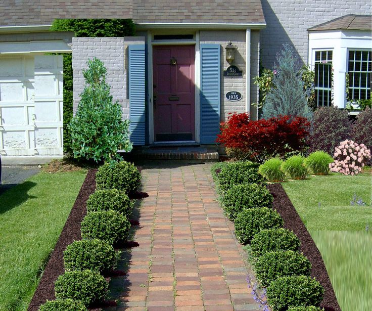 front yard landscaping ideas statuette of awesome front yard landscape plans LHDHLBG