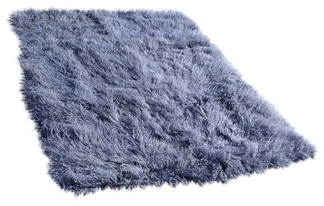 fur rugs 4u0027 x 6u0027 tibetan / mongolian lamb fur rug metallic grey contemporary-area MYGBJLM