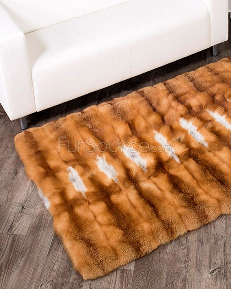 fur rugs red fox fur rug NRNCSUN