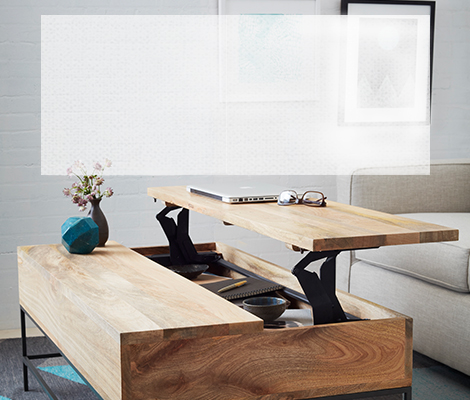 furniture for small spaces   west elm ZDXHWIP