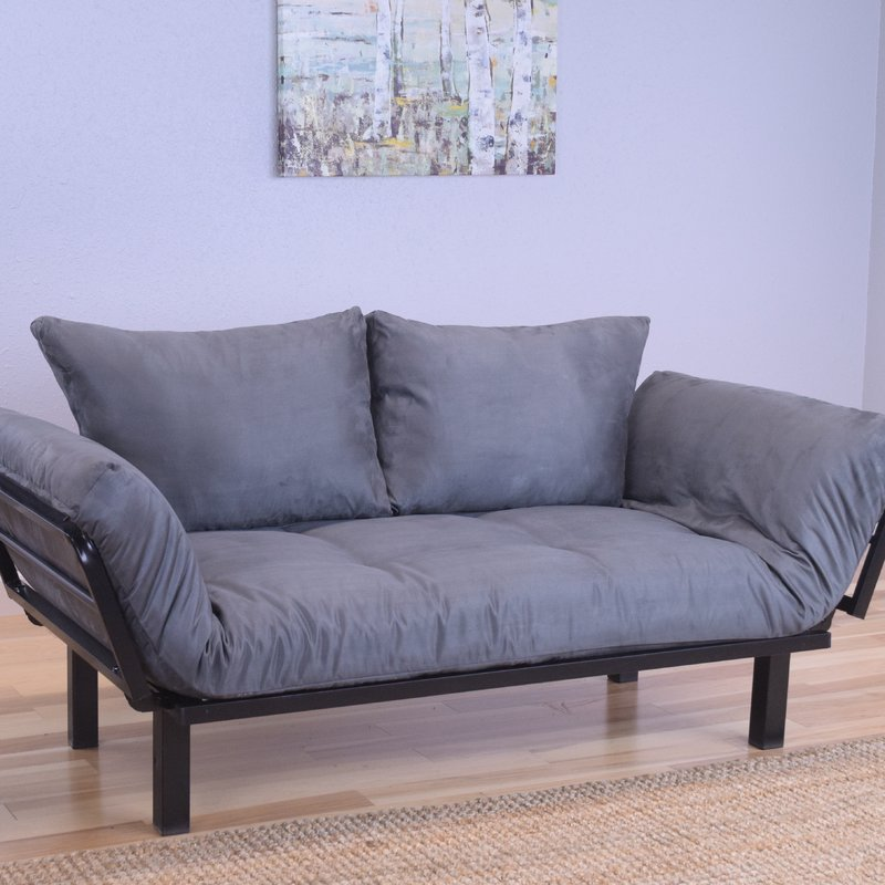 Ways to style futon sofa bed