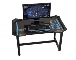 gaming computer desk how would you like to own the worldu0027s first wirelessly controlled glow in QWDWDFZ