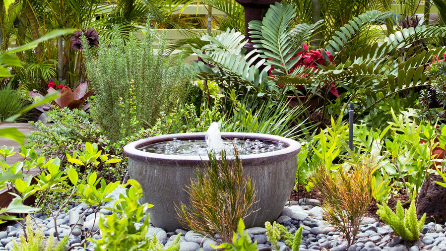 garden fountains diy bowl fountain HJTWQEU