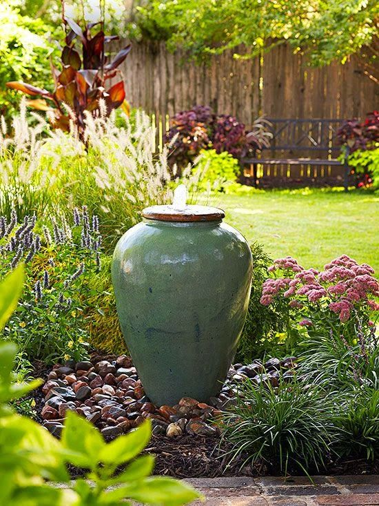 garden fountains easy backyard fountain, backyard inspiration, fountains and water features,  water-lover AXSGZBB