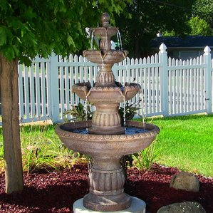 garden fountains outdoor fountains QRDBVRN