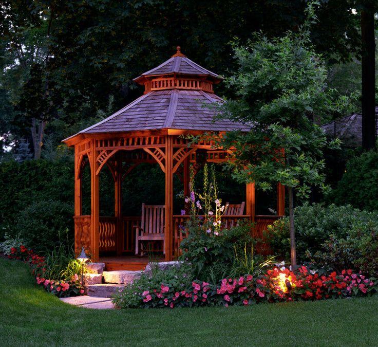 garden gazebo 32 garden gazebos for creating your garden refuge PKADIQM