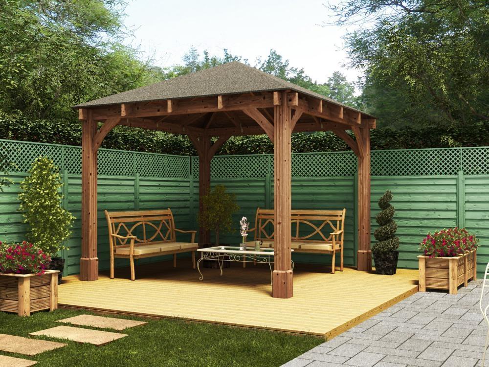 garden gazebo atlas open gazebo w3.2m x d3.2m ... CAJPEUH