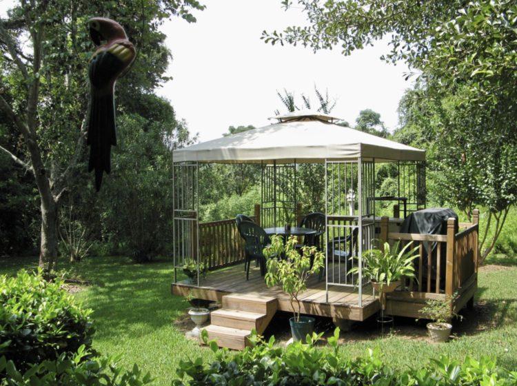 garden gazebo ideas to embellish your lovely garden HGUZZJC