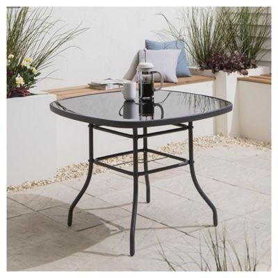 garden tables tesco seville garden table, 96.5cm WMWGVSA