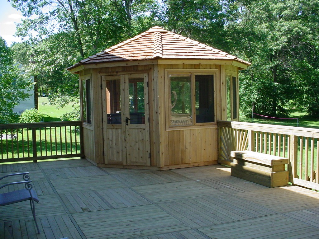 gazebo kits 12 ft octagon whistler all season gazebo kit TKEUEXX