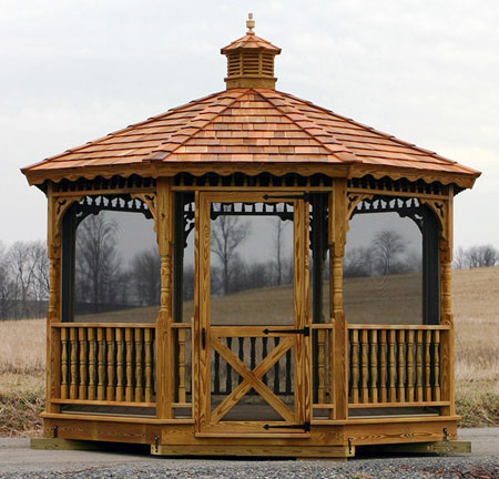 gazebo kits: wood gazebo kits ESZRRKU