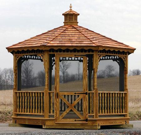 gazebo kits: wood gazebo kits ESZRRKU