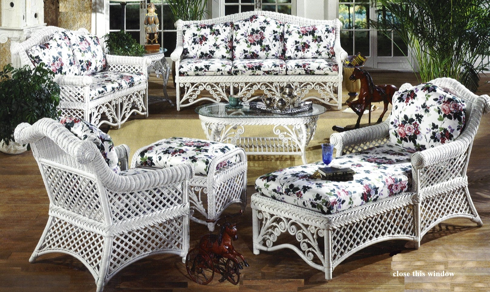 gazebo victorian wicker furniture HHMIYJF