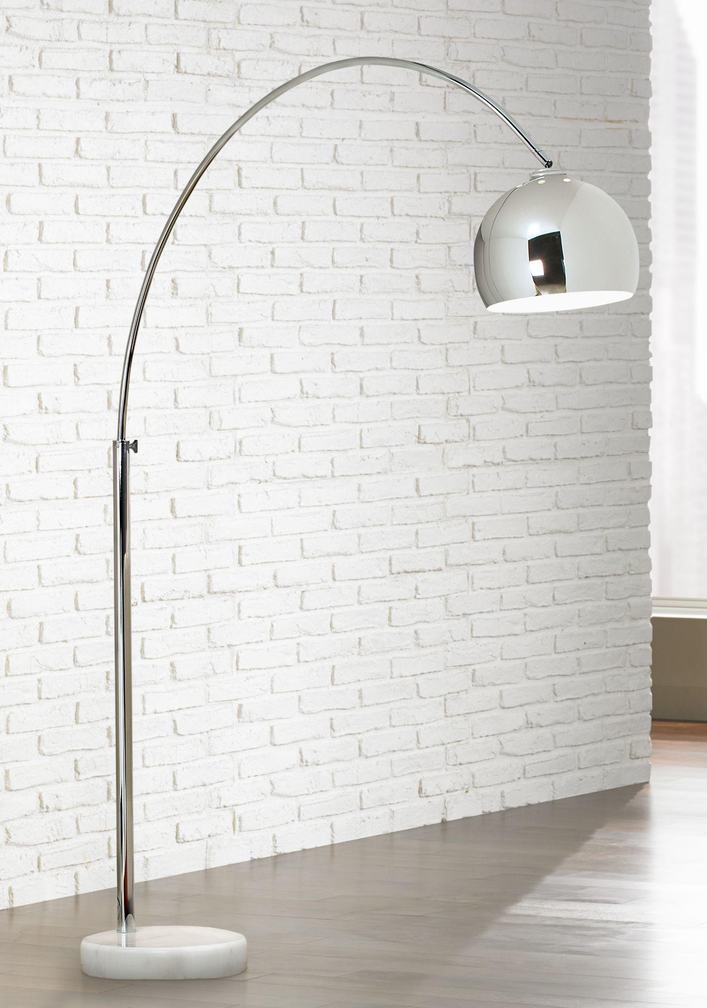 george kovacs polished chrome arc floor lamp SBZQSKN